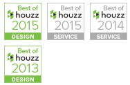 Best Of Houzz 2013, 2014 & 2015!